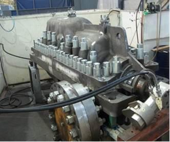 Pump Casing Hydrostatic Test